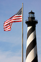 The stately Cape Hatteras Lighthouse is the tallest in the nation and a beloved fixture in the North Carolina Outer Banks.