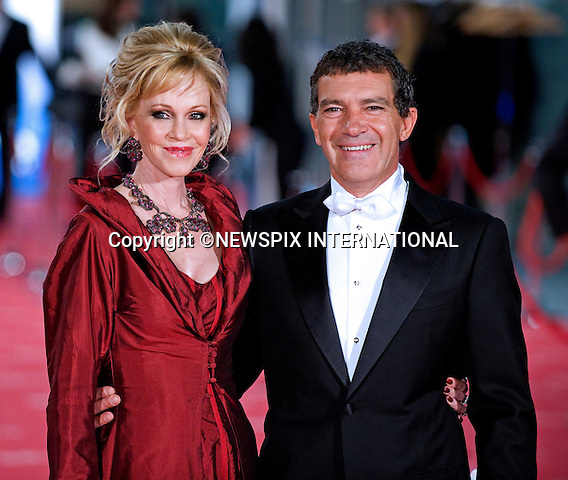 "MELANIE GRIFFITH AND HUSBAND ANTONIO BANDERAS.attend the 26th Edition of the Goya Awards, Palacio de Congresos de Madrid, Spain_19/02/2012.Mandatory Credit Photo: ©NEWSPIX INTERNATIONAL..                 **ALL FEES PAYABLE TO: ""NEWSPIX INTERNATIONAL""**..IMMEDIATE CONFIRMATION OF USAGE REQUIRED:.Newspix International, 31 Chinnery Hill, Bishop's Stortford, ENGLAND CM23 3PS.Tel:+441279 324672  ; Fax: +441279656877.Mobile:  07775681153.e-mail: info@newspixinternational.co.uk"