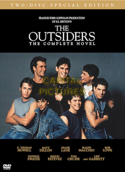 DVD COVER ART.in The Outsiders.*Filmstill - Editorial Use Only*.CAP/FB.Supplied by Capital Pictures.