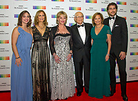 Norman Lear and his family arrive for the formal Artist's Dinner honoring the recipients of the 40th Annual Kennedy Center Honors hosted by United States Secretary of State Rex Tillerson at the US Department of State in Washington, D.C. on Saturday, December 2, 2017. The 2017 honorees are: American dancer and choreographer Carmen de Lavallade; Cuban American singer-songwriter and actress Gloria Estefan; American hip hop artist and entertainment icon LL COOL J; American television writer and producer Norman Lear; and American musician and record producer Lionel Richie. Photo Credit: Ron Sachs/CNP/AdMedia