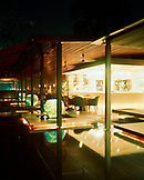 SINGAPORE, Asia, interior of a Sentosa Spa Cliff Restaurant