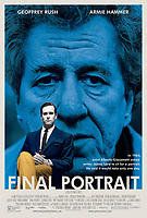 CREDIT-SONY CLASSICS<br /> FINAL PORTRAIT (2017)<br /> POSTER<br /> *Filmstill - Editorial Use Only*<br /> CAP/FB<br /> Image supplied by Capital Pictures