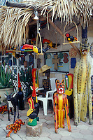 Handicrafts boutique in Puerto Morelos, Quintana Roo, Mexico