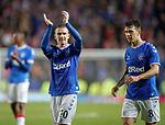 29.08.2019 Rangers v Legia Warsaw: Steven Davis and Ryan Jack