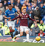 Jamie Brandon and Alfredo Morelos