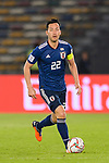 Yoshida Maya of Japan in action during the AFC Asian Cup UAE 2019 Group F match between Oman (OMA) and Japan (JPN) at Zayed Sports City Stadium on 13 January 2019 in Abu Dhabi, United Arab Emirates. Photo by Marcio Rodrigo Machado / Power Sport Images
