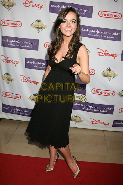 "NICOLE LAPIN.Starlight Starbright Foundation's ""A Stellar Night Gala"" 2007 at the Beverly Hilton Hotel, Beverly Hills, California , USA, 23 March 2007..full length black dress.CAP/ADM/BP.©Byron Purvis/AdMedia/Capital Pictures."