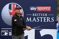 Robert Karlsson (SWE) on the 12th tee during Round 1of the Sky Sports British Masters at Walton Heath Golf Club in Tadworth, Surrey, England on Thursday 11th Oct 2018.<br /> Picture:  Thos Caffrey | Golffile<br /> <br /> All photo usage must carry mandatory copyright credit (© Golffile | Thos Caffrey)