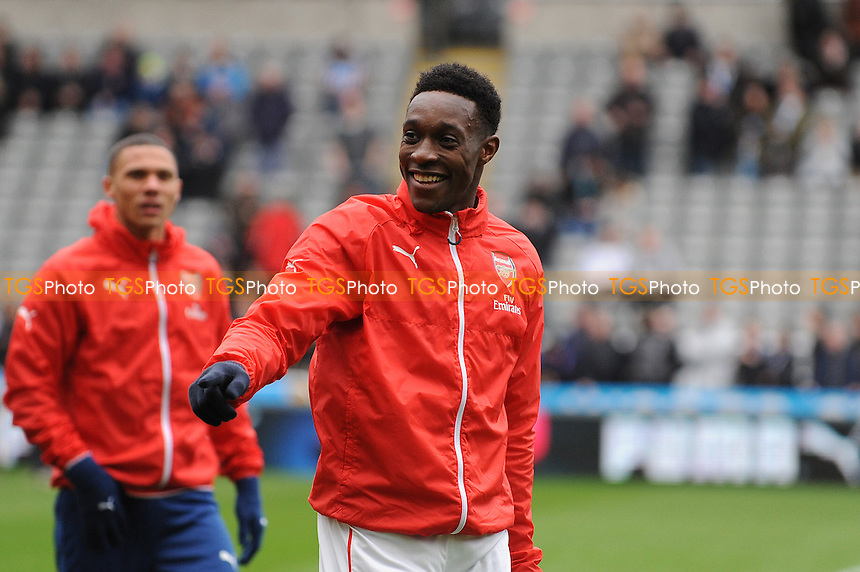 Danny Welbeck of Arsenal - Newcastle United vs Arsenal - Barclays Premier League Football at St James Park, Newcastle upon Tyne - 21/03/15 - MANDATORY CREDIT: Steven White/TGSPHOTO - Self billing applies where appropriate - contact@tgsphoto.co.uk - NO UNPAID USE