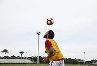Lakewood Ranch, FL - Sunday July 23, 2017: Seth Jahn during an international friendly match between the paralympic national teams of the United States (USA) and Canada (CAN) at Premier Sports Campus at Lakewood Ranch.