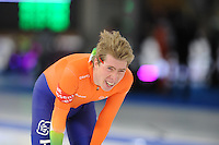 SCHAATSEN: BERLIJN: Sportforum, Essent ISU World Cup Speed Skating | The Final, 10-03-2012, 5000m Men, Jorrit Bergsma (NED), ©foto Martin de Jong