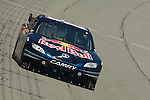 June 12 2009: Brian Vickers drives the Red Bull Toyota Camry during practice for the LifeLock 400 at Michigan International Speedway in Brooklyn, MIchigan.