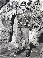 BNPS.co.uk (01202 558833)<br /> Pic: DNW/BNPS<br /> <br /> Daring Colour Sergeant Willie Paterson  <br /> <br /> The remarkable exploits of a hero Royal Marine who survived a 100ft fall before distinguishing himself in battle can be revealed after his bravery medals sold for over £17,000.<br /> <br /> Colour Sergeant Willie Paterson, of 45 Commando, broke nearly every bone in his body when his rope snapped in a training accident in Dartmoor, Devon, in 1962.<br /> <br /> Yet, just two years later, with a metal plate in his arm, he led his men in perilous night time missions against native guerrilla fighters over mountainous terrain during the Radfan Campaign of 1964.<br /> <br /> The campaign was part of the Aden Emergency, an armed insurgency by nationalists against British forces stationed in South Arabia, now part of Yemen.