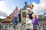 Tom O'Connell, Chairman, Sliabh Luachra Rambling House, Helen Lenihan, Rambling House Committee, Cathy Casey, Rambling House Committee, Bridie Garvey, Secretary/PRO of the Sliabh Luachra Scartaglin launch the Rambling House Sliabh Luachra Cultural and Heritage Centre, celebrating Heritage Week on Thursday the 28th of August at the Heritage Centre at 8.30pm