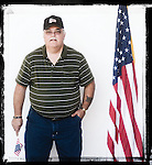 Veteran Ray Wilburn poses for a photo at a Veterans Day Program at the Oxford Conference Center in Oxford, Miss. on Thursday, November 11, 2010.