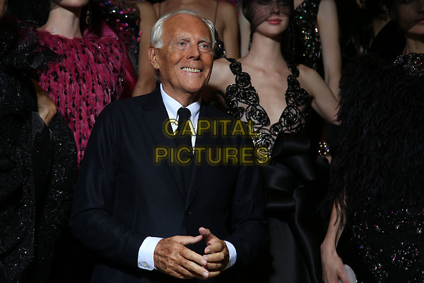GIORGIO ARMANI PRIVE Backstage at fashion show<br /> HAUTE COUTURE Fall/Winter 17/18<br /> at Paris Fashion Week in France on  July 04, 2017.<br /> CAP/GOL<br /> &copy;GOL/Capital Pictures