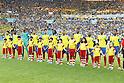 Ecuador team group line-up, JUNE 26, 2014 - Football / Soccer : FIFA World Cup Brazil<br /> match between Ecuador and France at the Maracana stadium in Rio de Janeiro, Brazil. (Photo by AFLO) [3604]