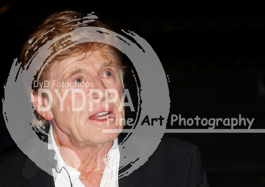 26/11/2012. Madrid. Spain. Robert Redford presents Sundance Channel. (C) DyD Fotografos