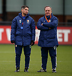 27.11.2019: Feyenoord training: Said Bakkati and Dick Advocaat