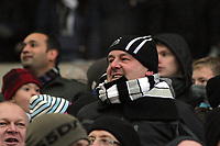 Pictured: Swansea supporters. Saturday, 04 February 2012<br />
