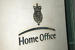 Home Office sign, Marsham Street, Westminster, London