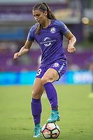 Orlando, FL - Saturday July 01, 2017: Alex Morgan during a regular season National Women's Soccer League (NWSL) match between the Orlando Pride and the Chicago Red Stars at Orlando City Stadium.