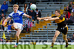 Tommy Walsh  Kerins O Rahillys gets his shot away under pressure from Mike Moloney Dr Crokes during their County Championship clash in Fitzgerald Stadium on Sunday