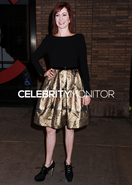 NEW YORK CITY, NY, USA - NOVEMBER 10: Carrie Preston arrives at the 2014 Glamour Women Of The Year Awards held at Carnegie Hall on November 10, 2014 in New York City, New York, United States. (Photo by Celebrity Monitor)