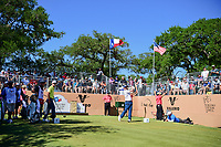 Brandon Grace (RSA) watches his tee shot on 17 during round 4 of the Valero Texas Open, AT&amp;T Oaks Course, TPC San Antonio, San Antonio, Texas, USA. 4/23/2017.<br /> Picture: Golffile | Ken Murray<br /> <br /> <br /> All photo usage must carry mandatory copyright credit (&copy; Golffile | Ken Murray)