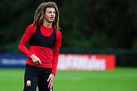 Ethan Ampadu of Wales  during the Wales Training Session at The Vale Resort in Cardiff, Wales, UK. Monday 07 October 2019