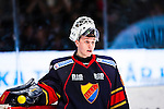 Stockholm 2013-12-28 Ishockey Hockeyallsvenskan Djurg&aring;rdens IF - Almtuna IS :  <br /> Djurg&aring;rden m&aring;lvakt Johan Mattsson <br /> (Foto: Kenta J&ouml;nsson) Nyckelord:  portr&auml;tt portrait
