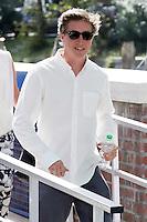 David Gordon Green arriva alla Darsena<br /> Venezia 30/08/2014. Palazzo Del Cinama, Mostra Internazionale d'arte del Cinema di Venezia 2014. Venice Film Festival 2014<br /> Photo Mark Cape/Insidefoto