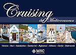 Cruising the Mediterrannean: Venice, Bari, Katakolon,Santorini, Mykonos, Athens, Corfu, Dubrovnik - Souvenir pictorial book, 80 pages, hard cover with full colour images that sell onboard vessels operated by MSC Cruises and follow the specific itinerary. Text in English, Italian, French, German, Spanish.<br /> To order this book please click on this link: https://www.widescenes.com/product/book-cruising-the-mediterranean-venice-bari-katakolon-santorini-mykonos-athens-corfu-dubrovnik/