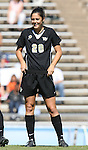 14 October 2007: Wake Forest's Caitlin Farrell. The University of North Carolina Tar Heels defeated the Wake Forest University Demon Deacons 1-0 at Fetzer Field in Chapel Hill, North Carolina in an Atlantic Coast Conference NCAA Division I Womens Soccer game.