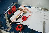 Plumbing student's tools, Able Skills, Dartford, Kent.