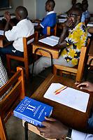 UGANDA, Kampala, National Seminary Ggaba, theological education, book Vatican Council