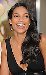 "WESTWOOD, CA - JULY 06: Rosario Dawson arrives to the ""Zookeeper"" Los Angeles Premiere at Regency Village Theatre on July 6, 2011 in Westwood, California."