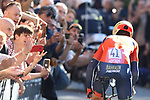 Giro d'Italia - Cycling Tour of Italy<br /> Vincenzo Nibali (Ita) at the Individual Time Trial on 11/05/2019 in Bologna, Italy. <br /> First climb of San Luca.