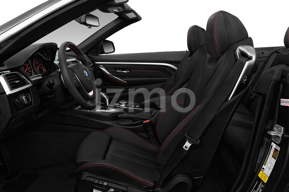 Front seat view of a 2018 BMW 4 Series 430i 2 Door Convertible front seat car photos