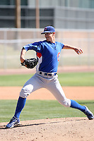 Ryan Buchter, Chicago Cubs 2010 minor league spring training..Photo by:  Bill Mitchell/Four Seam Images.