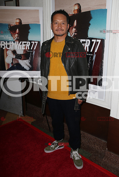 SANTA MONICA, CA - NOVEMBER 1: Takuji Masuda, at the Los Angeles Premiere of documentary Bunker77 at the Aero Theater in Santa Monica, California on November 1, 2017. Credit: Faye Sadou/MediaPunch /NortePhoto.com