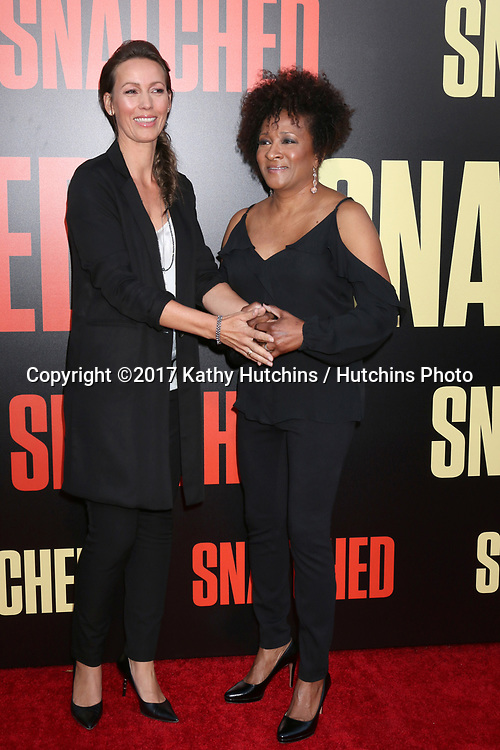 "LOS ANGELES - MAY 10:  Alex Sykes, Wanda Sykes at the ""Snatched"" World Premiere at the Village Theater on May 10, 2017 in Westwood, CA"