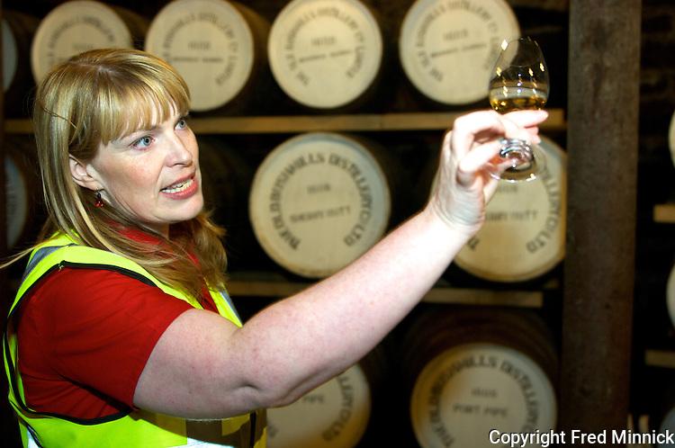 Helen Mulholland - the Master Blender at Bushmills