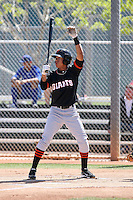 Ehire Adrianza, San Francisco Giants minor league spring training..Photo by:  Bill Mitchell/Four Seam Images.