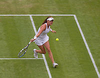 AGNIESZKA RADWANSKA..Tennis - Grand Slam - The Championships Wimbledon - AELTC - The All England Club - London - Fri June 29th 2012. .© AMN Images, 30, Cleveland Street, London, W1T 4JD.Tel - +44 20 7907 6387.mfrey@advantagemedianet.com.www.amnimages.photoshelter.com.www.advantagemedianet.com.www.tennishead.net
