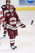 (Nathan Gerbe) Brian O'Hanley - The Boston College Eagles defeated the Boston University Terriers 5-0 on Saturday, March 25, 2006, in the Northeast Regional Final at the DCU Center in Worcester, MA.