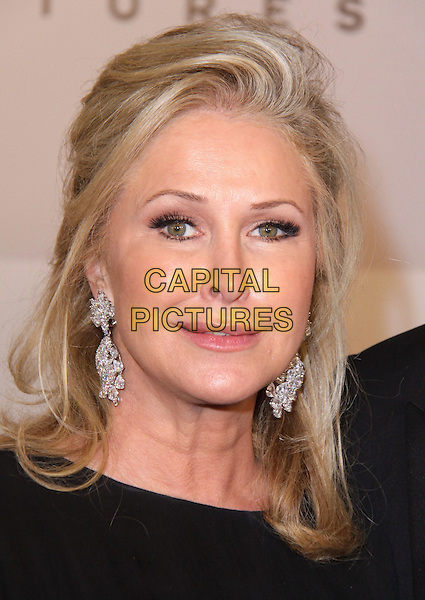 KATHY HILTON.NBC Universal 68th Annual Golden Globe Awards After Party held at the Beverly Hilton, Beverly Hills, California, USA..January 16th, 2011.headshot portrait black silver earrings .CAP/ADM/CH.©Charles Harris/AdMedia/Capital Pictures