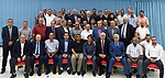 Palestinian President Mahmoud Abbas meets with the General Assembly of the Palestinian Olympic Committee in the West Bank city of Ramallah on August 9, 2017. Photo by Palestinian President Office