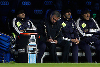 16.12.2012 SPAIN -  La Liga 12/13 Matchday 16th  match played between Real Madrid CF vs  RCD Espanyol (2-2) at Santiago Bernabeu stadium. The picture show Jose Mourinho  coach of Real Madrid