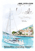 John, MASCULIN, MÄNNLICH, MASCULINO, paintings+++++,GBHSIPC50-1540B,#m#, EVERYDAY sailing,boat,maritime,